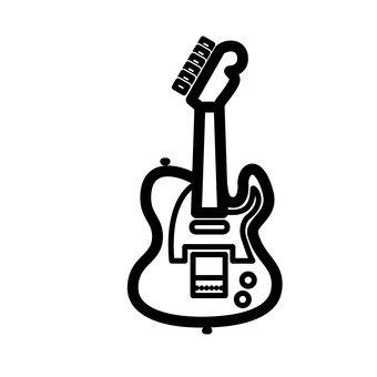 Una chitarra