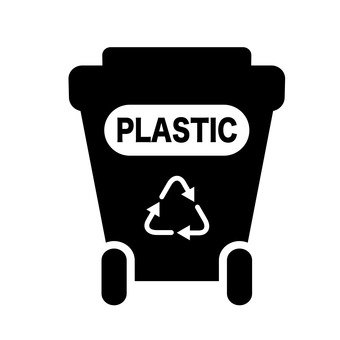 Trash bin (plastic)