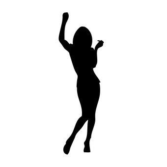 A woman dancing 1