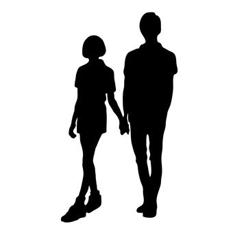 手牽手的情侶12