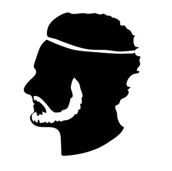 鬍子的男人