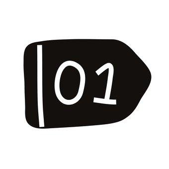 번호 01