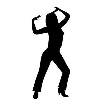 舞蹈的女人