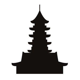 목조 탑 사원