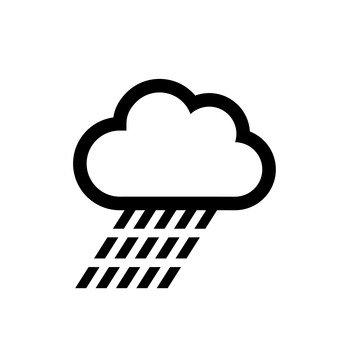 Strong rain