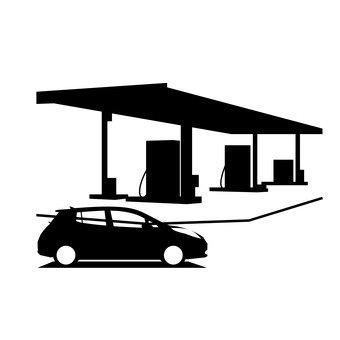 trạm xăng