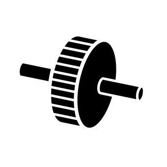 Abdominal muscle roller