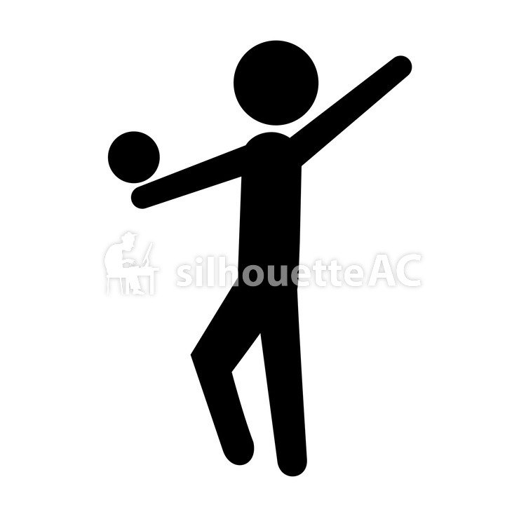 Free Silhouette Vector Athlete 117135 Silhouetteac
