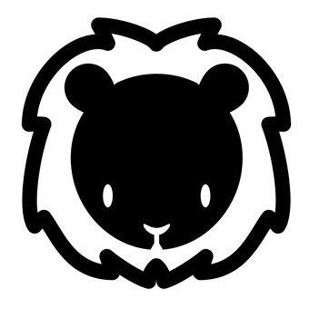 Lion (black)
