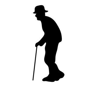 걷는 노인