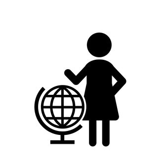 The globe and women