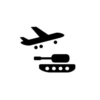 Airplanes and tanks