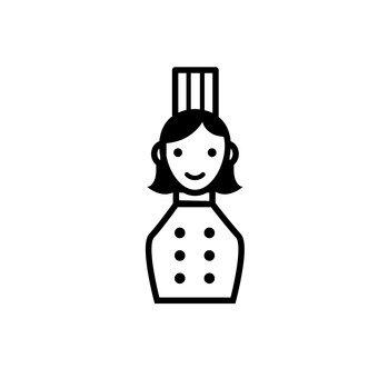 여성 요리사