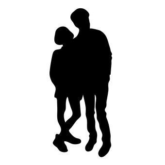 擁抱夫婦2